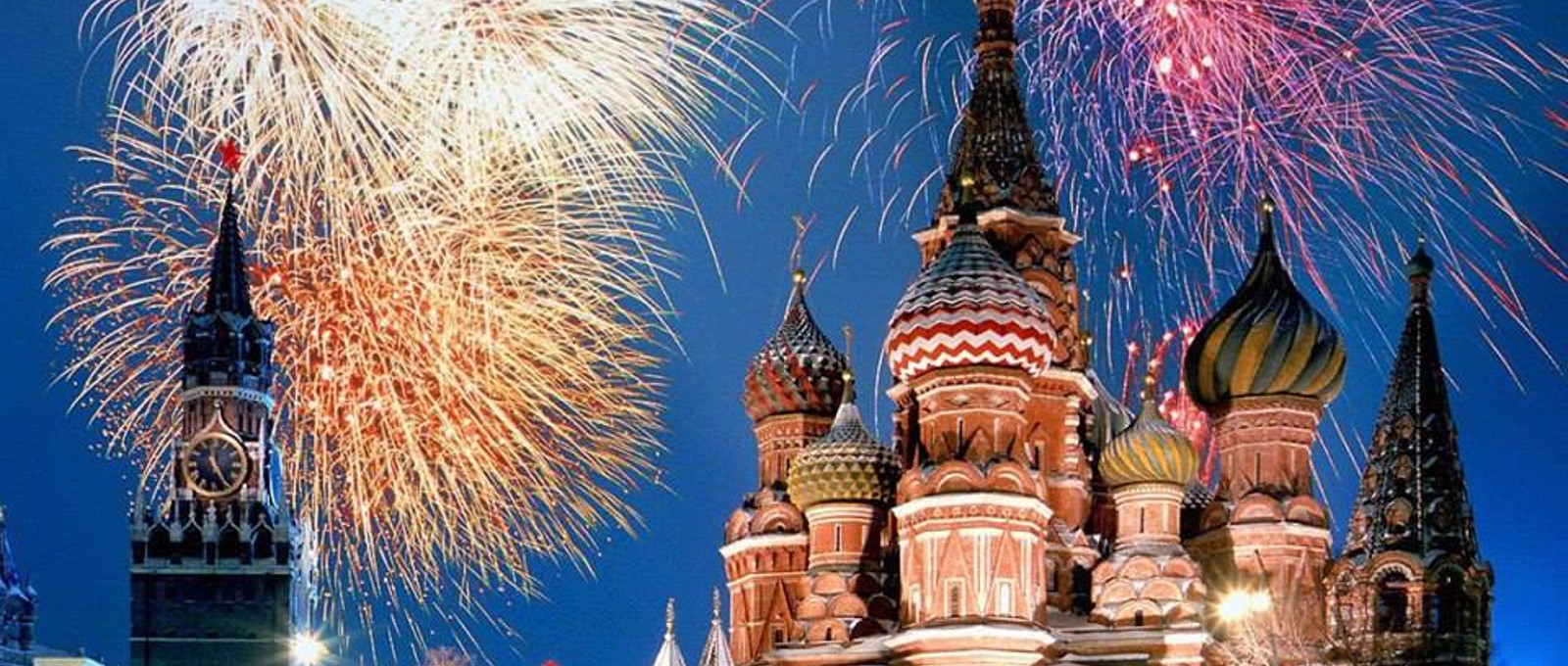 Silvester in Russland