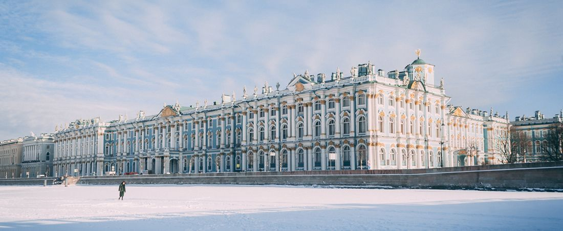 St. Petersburg, Russland / Winter