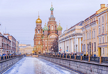 St. Petersburg, Winter Russland