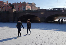 St. Petersburg Winter, Russland
